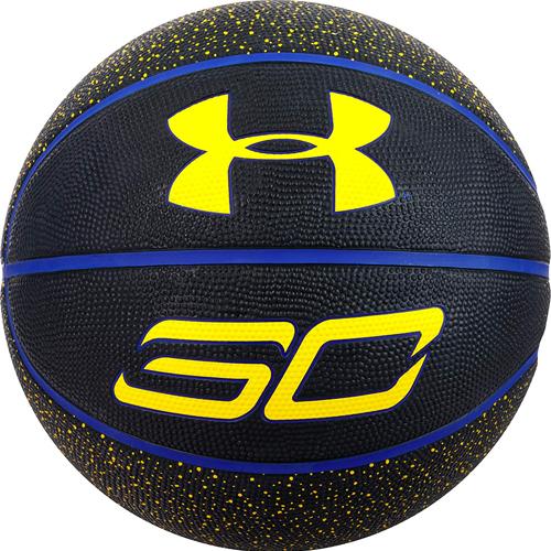 Stephen Curry Mini Basketball, Black/Blue, swatch