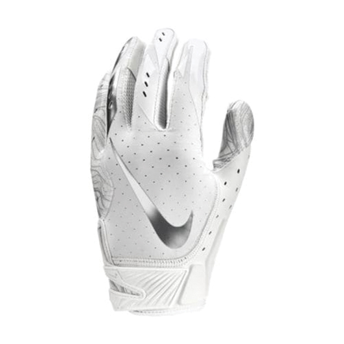 Men's Vapor Jet 5.0 Football Gloves, White, swatch