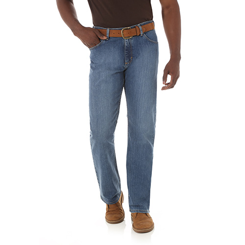 Men's Straight Fit Flex Jeans, , large