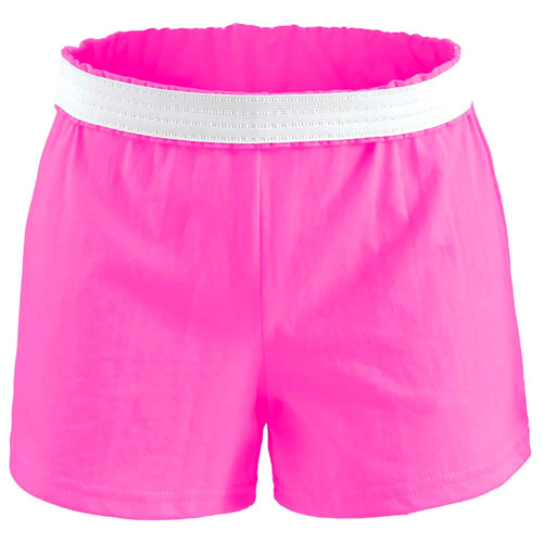 Women's Cheer Shorts, Hot Pink,Fuscia,Magenta, swatch
