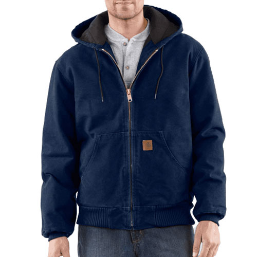 Men's Sandstone Active Jacket, Dark Blue, Midnight, swatch