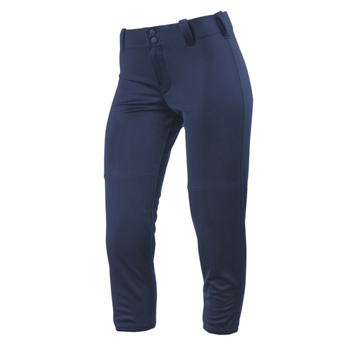 Women's Slap Hit Belted Softball Pant, Navy, swatch