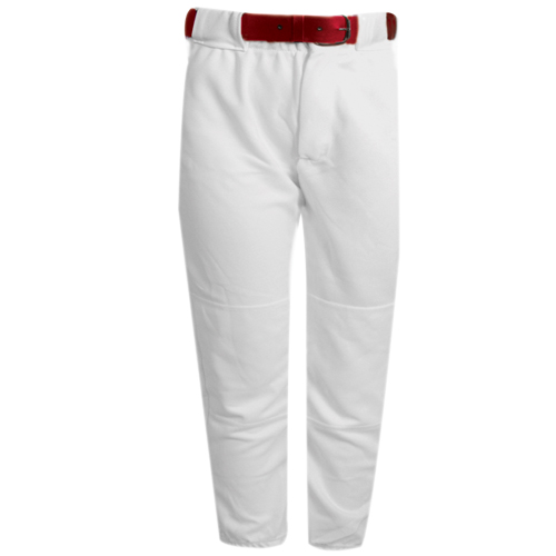 Youth Tunnel Belt Loop Baseball Pant, White, swatch