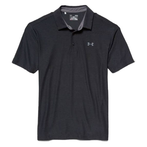 Under Armour Men's Playoff Polo, Black, swatch