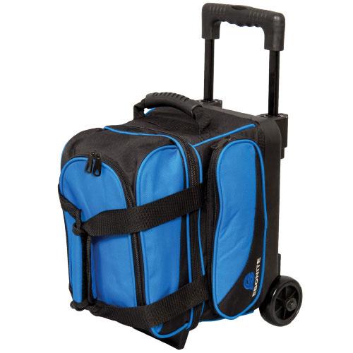 Transport Single Roller Bowling Bag, Black/Blue, swatch