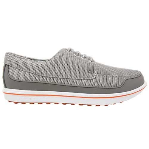 Men's Gimmie Golf Shoe, Gray/Orange, swatch
