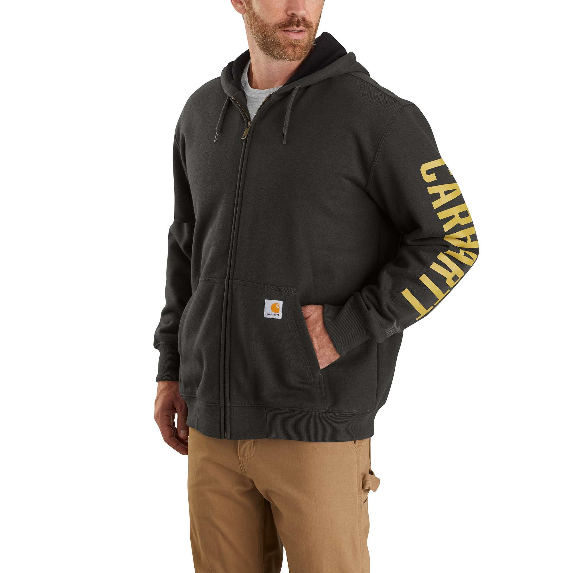 Men's Rain Defender Logo Sweatshirt, Dkgreen,Moss,Olive,Forest, swatch