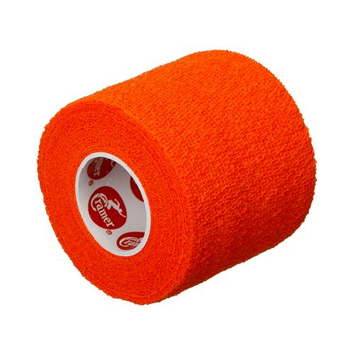 Self-Stick Stretch Athletic Tape, Orange, swatch