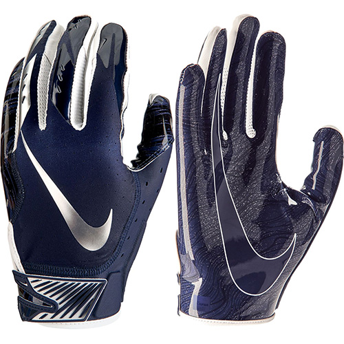Men's Vapor Jet 5.0 Football Gloves, Black, swatch