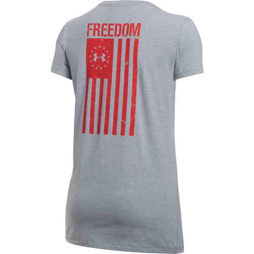 Women's Freedom Flag 2.0 Tee, , large