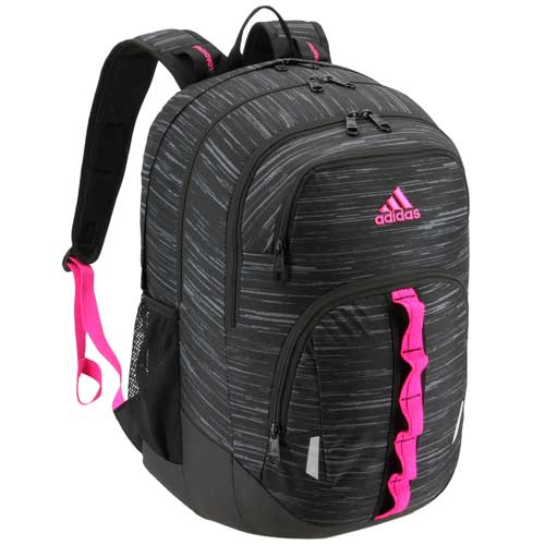 Prime V Backpack, Black/Pink, swatch