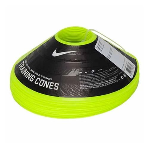 10-Pack Training Cones, Neon Green, swatch