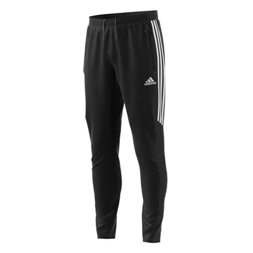 Men's Soccer Tiro Training Pants, Black/White, swatch