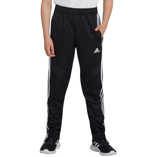 Youth Soccer Tiro 19 Training Pant, Black/White, swatch