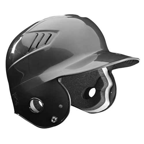 Tee Ball CoolFlo Batting Helmet, Black, swatch