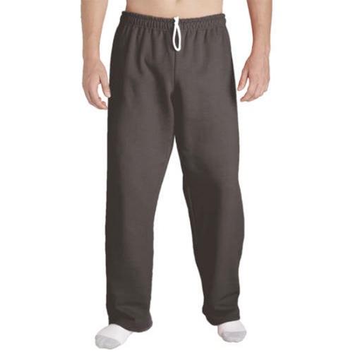 Men's Open Bottom Pocketed Jersey Pants, Dark Charcoal, swatch