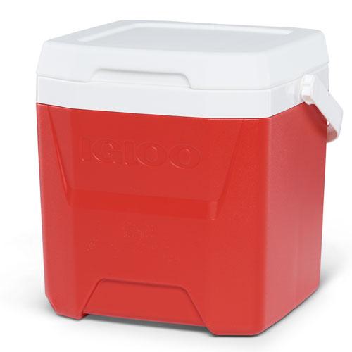 Quantum 12Qt Cooler, Red, swatch