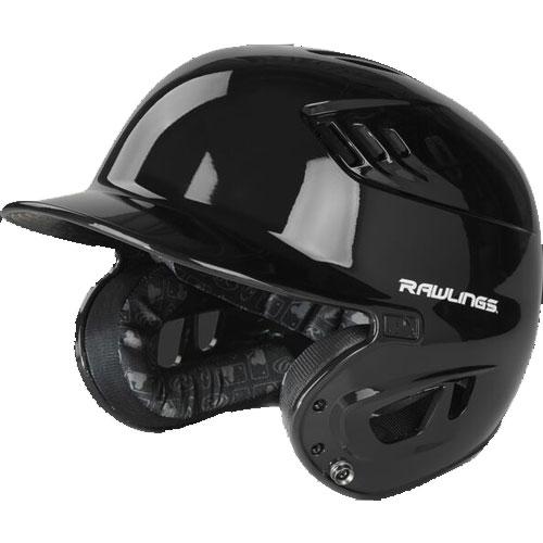 Senior R16 Batting Helmet, Black, swatch