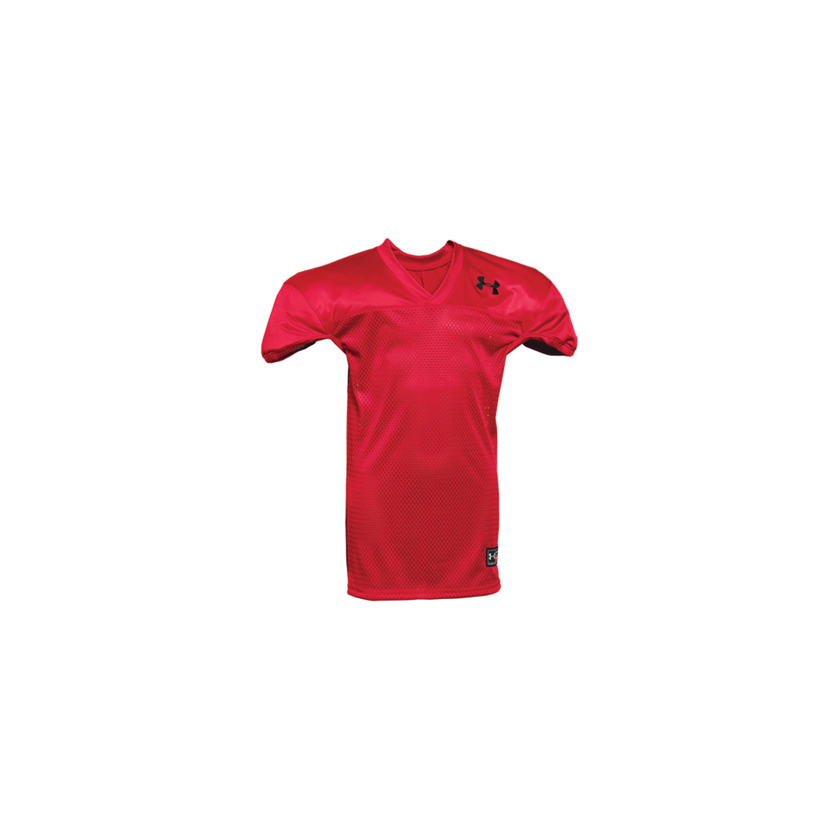 Youth Practice Football Jersey, Red/White, swatch