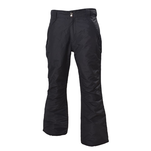 Women's Insulated Snow Pants, Black, swatch