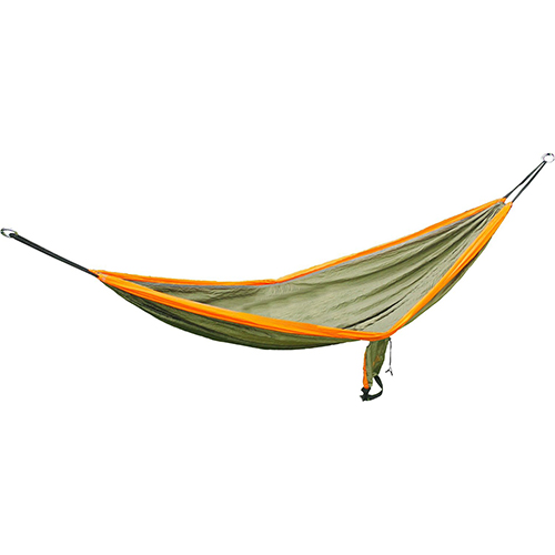 Rampler Double Parachute Hammock, Green/Orange, swatch