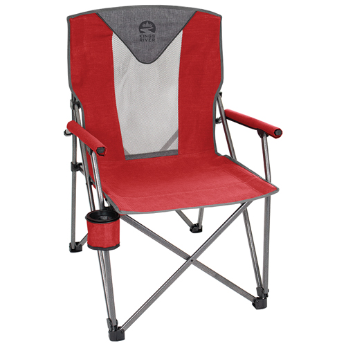 Deluxe Hard Arm Chair, Red, swatch