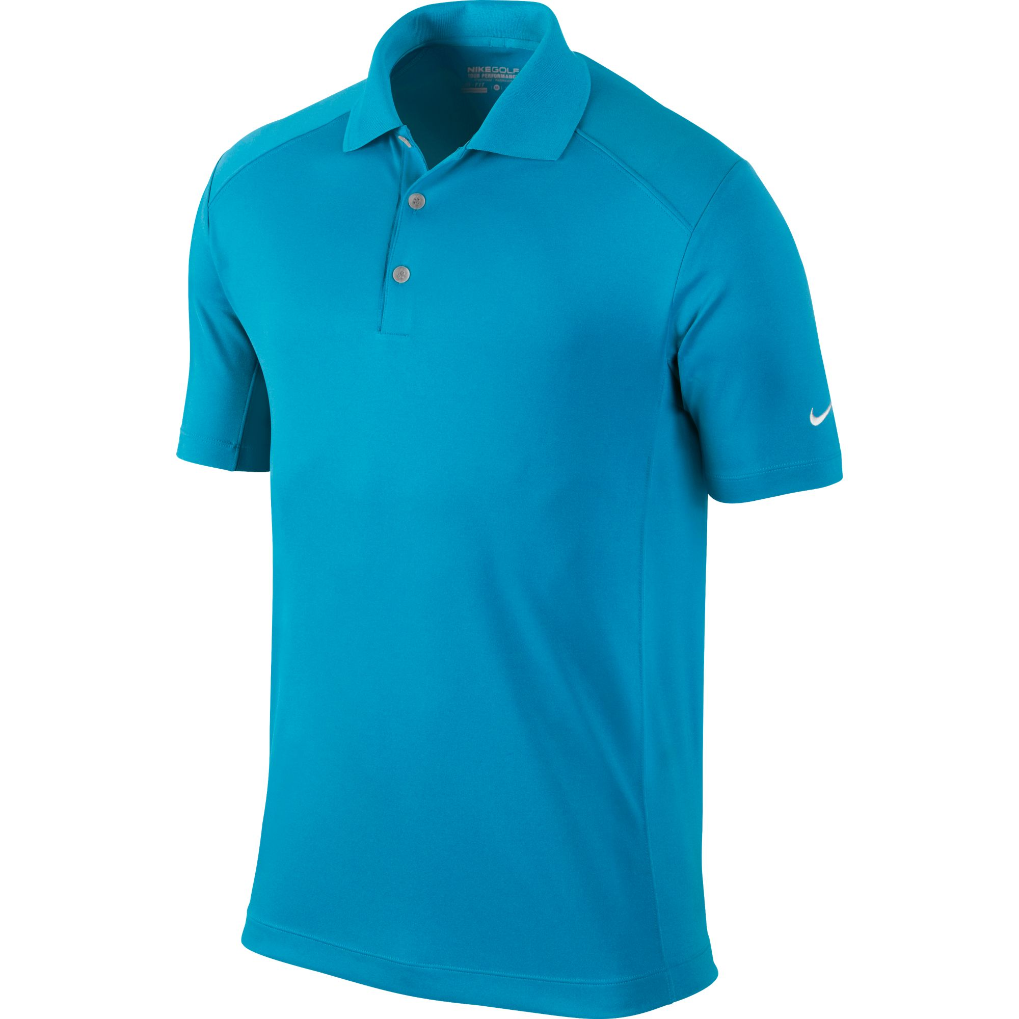 Men's Victory Solid Polo Golf Shirt, Cool Blue, swatch