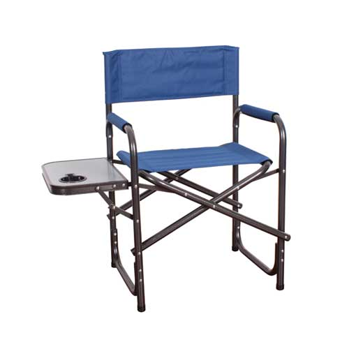 Directors Chair With Table, Blue, swatch