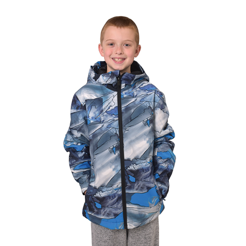 Boys' Morton Jacket, Blue, swatch