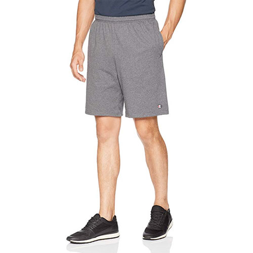 Men's Jersey Short With Pockets, Charcoal,Smoke,Steel, swatch