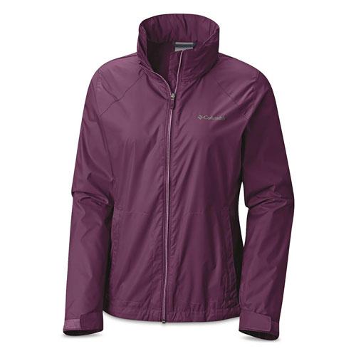Women's Switchback Iii Jacket, Purple, swatch