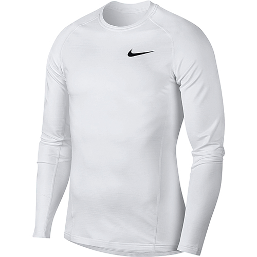 Men's Pro Therma Cold Compression Long Sleeve Shirt, White, swatch