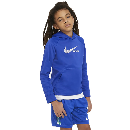 Boys' Graphic Pullover Hoodie, Royal Bl,Sapphire,Marine, swatch