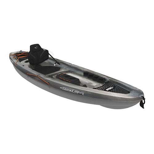 Strike 100NXT Angler Sit-on Kayak, Gray, swatch