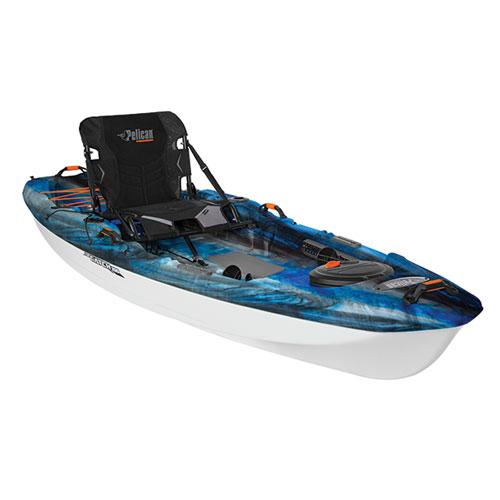 Catch 100 Angler Kayak, Blue/Black, swatch