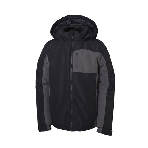 Boy's Youth Gravity Jacket, Black, swatch