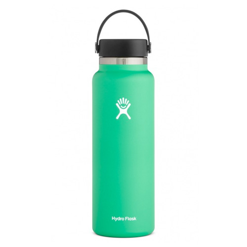 40oz Wide Mouth Stainless Steel Bottle, Bright Grn,Kelly,Emerald, swatch