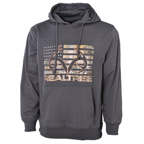 Men's Fleece Hoodie, Charcoal,Smoke,Steel, swatch