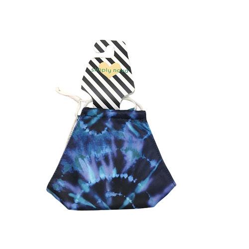 Spin Tie Dye Mask, Blue, swatch