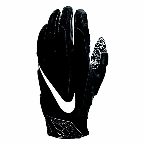 Adult Superbad 5.0 Football Gloves, Black/White, swatch