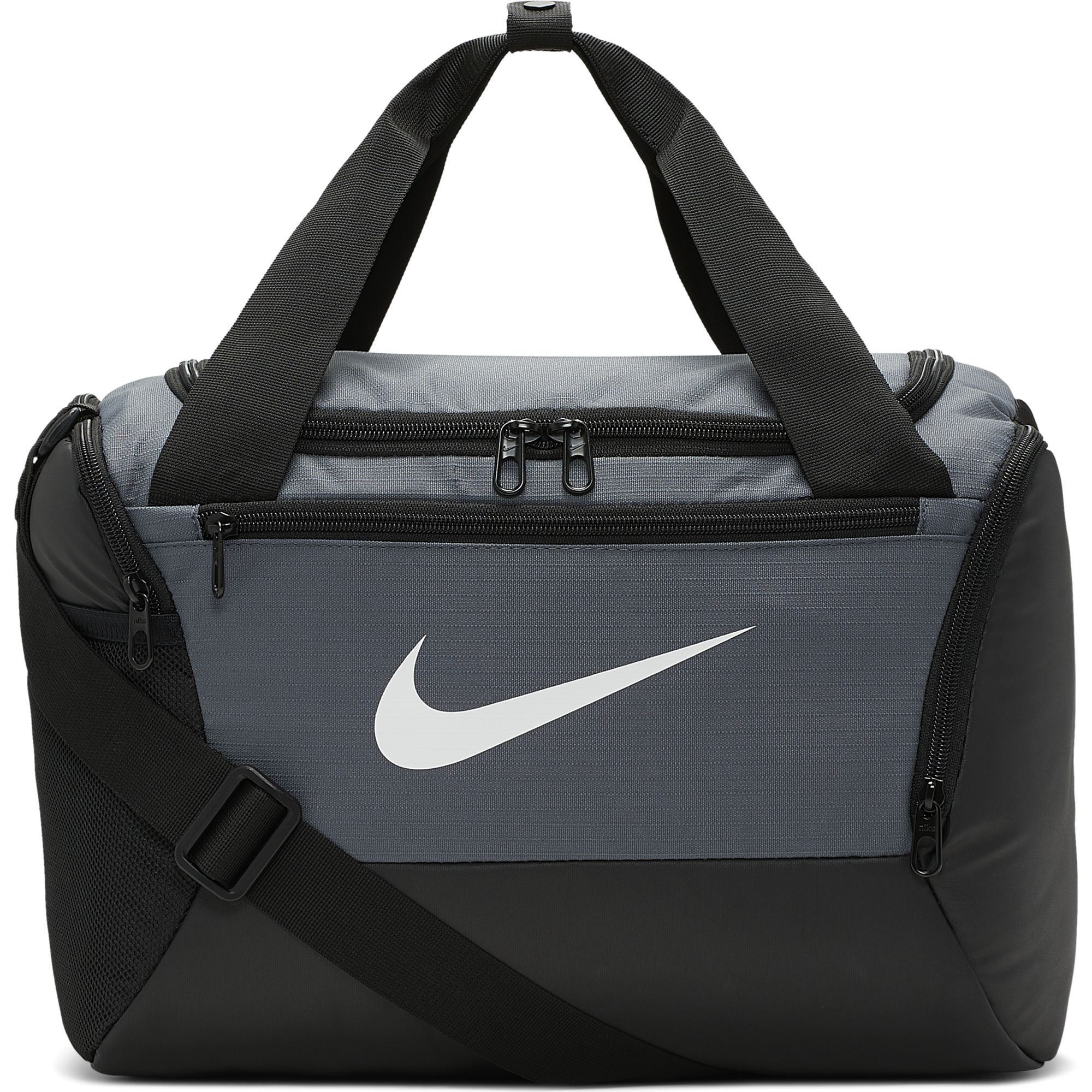 Brasilia X-Small Duffel Bag, Gray/Black, swatch