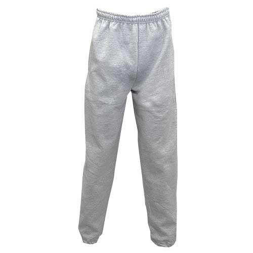 Men's Fleece Pants, Gray, swatch