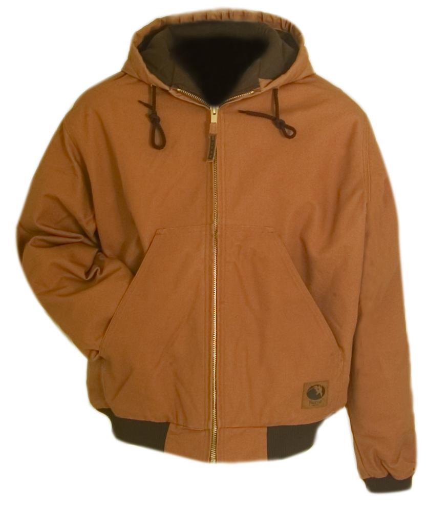 Original Hooded Jacket, Brown, swatch