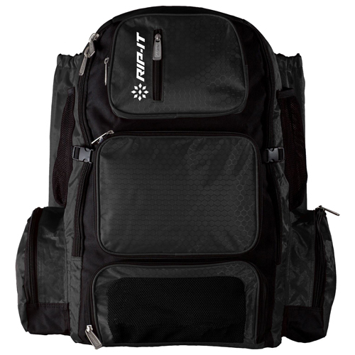 Pack-It-Up Fastpitch Bat Pack, Black, swatch