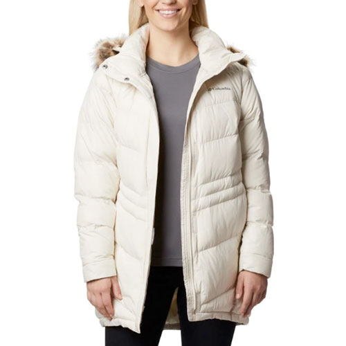 Women's Peak To Park Mid Ski Jacket, White, swatch
