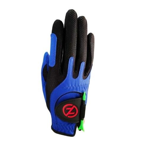 Junior Right Hand Compression Golf Glove, Blue, swatch