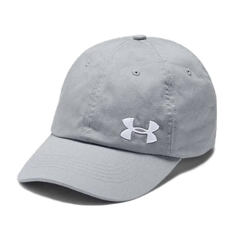 Women's Cotton Golf Cap, Gray/White, swatch