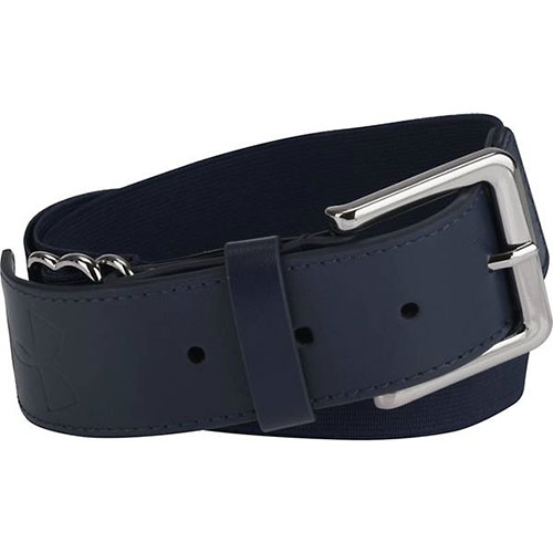 Adult Baseball Belt, Navy, swatch