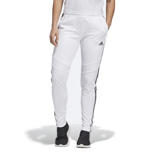 Women's Soccer Tiro 19 Training Pants, White, swatch
