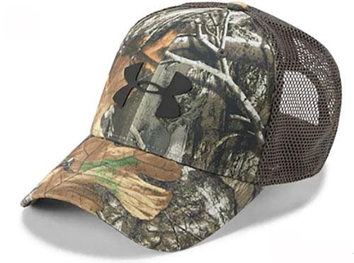 Men's Camo Mesh Cap 2.0, Camouflage Tree Bark, swatch